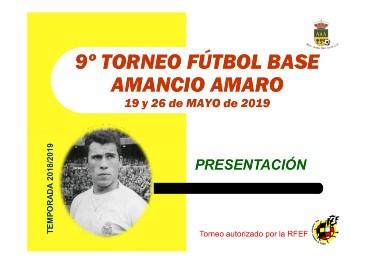 9º Torneo de Futbol Base Amancio Amaro