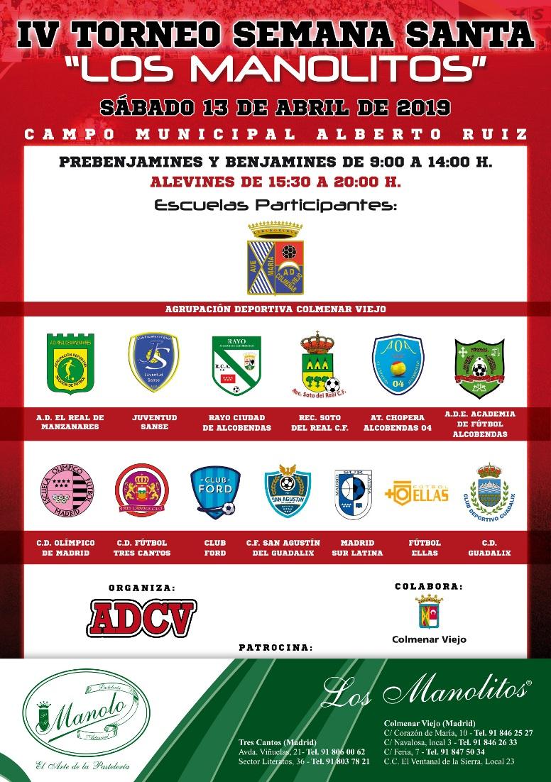 IV Torneo de Semana Santa Los Manolitos 2019
