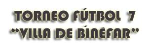 Torneo Binefar 2013
