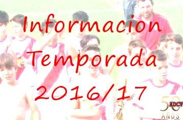 Comienzo de la temporada 2016-17