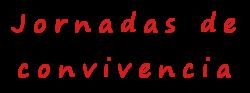 Jornadas de convivencia ADCV