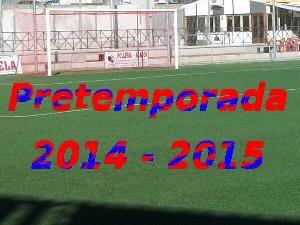 Resultados de partidos de Pretemporada 2014-2015